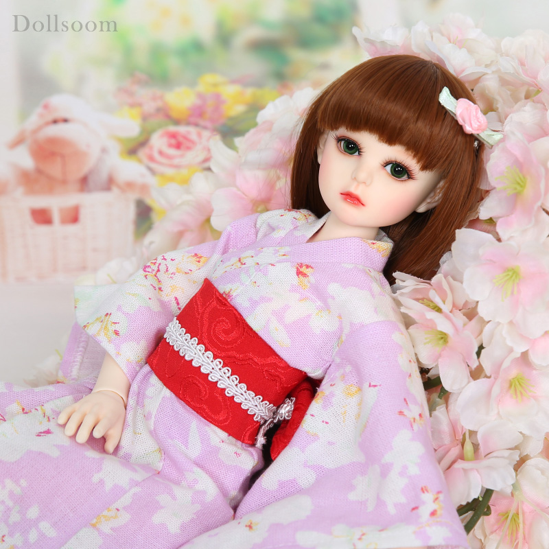 Alice Kimono 1/4 BJD Dolls Resin Body Model  Girls Boys High Quality Toys For Girls Birthday Xmas Best GiftsAlice Kimono 1/4 BJD Dolls Resin Body Model  Girls Boys High Quality Toys For Girls Birthday Xmas Best Gifts