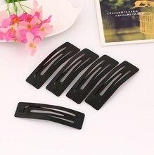 Crianças New Chegada de tinta preta mate hairpin side clipe BB pasta de selecionados Bonito Acessórios Para o cabelo