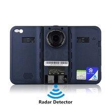 Nowy 7 cal Android Nawigacja GPS Kamera DVR Samochodów Radar wykrywacz Samochodów Pojazdów GPS WiFi Pojemnościowy A23 Dual core Builin 16 GB