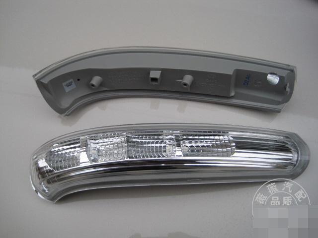 2 unids piezas nuevo espejo retrovisor de coche Luz de señal de giro espejo lateral lámpara led para Chevrolet Captiva para 2017-2008 toda la lámpara retrovisora