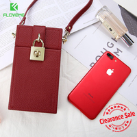 FLOVEME Universal Phone Bags Case For IPhone 8 6 6s 7 Plus Vintage Phone Box For