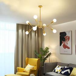 Вдохновение звезда Мода современная светодиодная люстра Делюкс Гостиная Свет Классический Лофт Effulgent люстра огни
