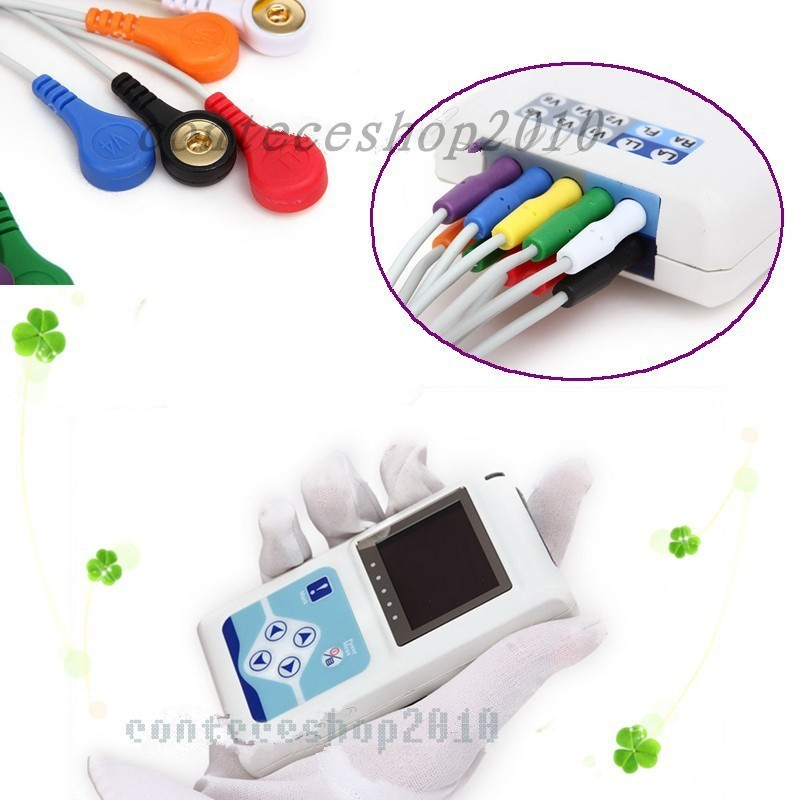 CE FDA Certified 12 Channel TLC5000 Holder MONITER ECG EKG Monitoring System  medical equipment