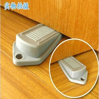 Child Protection Products splines door stopper / door insert / doorstop to prevent the closing baby gate card protection t6299 защитные накладки для дома happy baby фиксатор для двери pull out door stopper