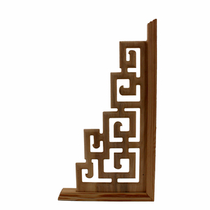 Image 3 - Chinese Style  Home Wedding  Accessories Furniture Appliques Wood Carving Corner Wooden Decor Frame Wall Door Woodcarving Decal