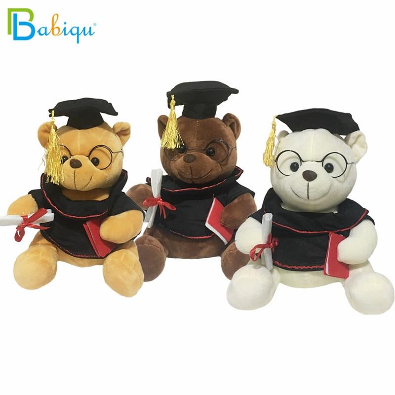 """Brown Graduation Teddy Bear w//glasses Teddy /& Friends 12/""""//32cm"""