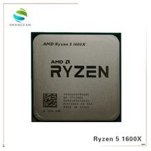 AMD procesador de CPU AMD Ryzen 5 1600X R5 1600X 3,6 GHz, seis núcleos, 12 hilos, 95W L3 = 16M YD160XBCM6IAE Socket AM4