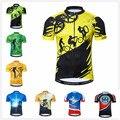 Outdoor Radfahren Jersey Herren bike bekleidung fahrrad Ropa Ciclismo maillot straße MTB jersey jugend mountainbike jersey 2019 Gelb|Rad-Trikots|   -