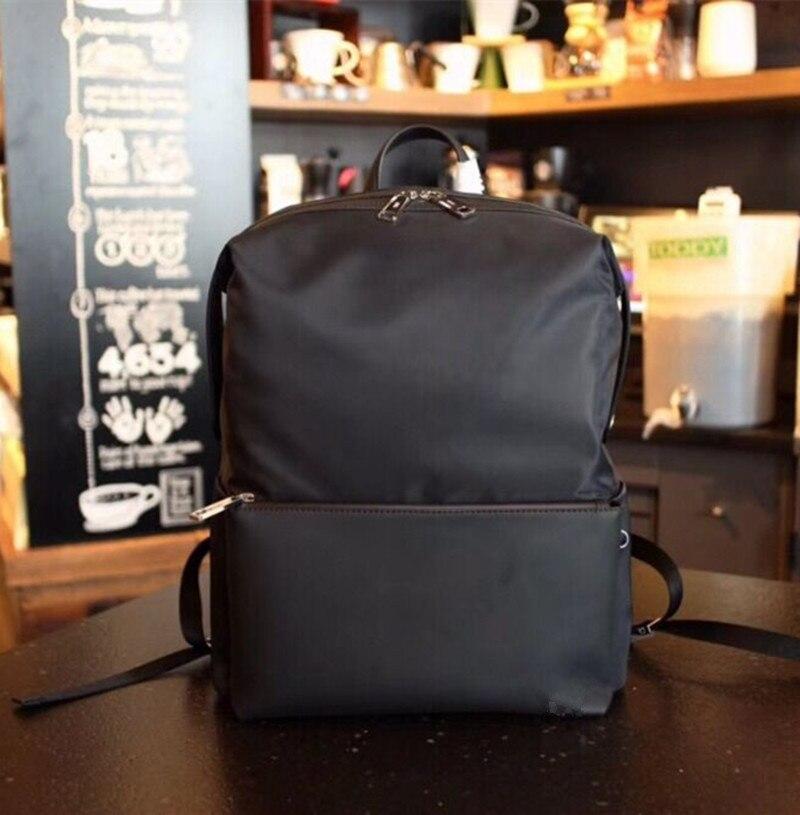 2019 nouveau monstre sac à dos étanche femme mode toile noire et cuir marque femmes unisexe sac importé en cuir sac à dos