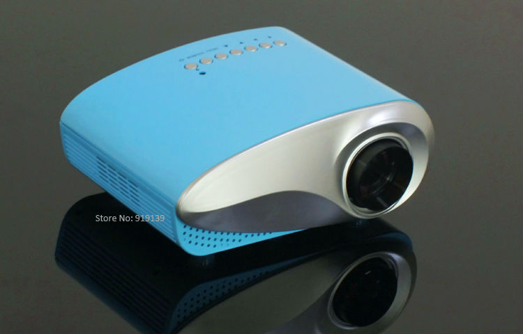 mini projector blue pic 3