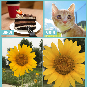 Image 5 - Sirui 60mm Telephoto Portrait Phone Lens 18MM Wide Angle HD 4K Mobile Lens for iPhone XS X 7 plus Huawei P20 Samsung S9 S8