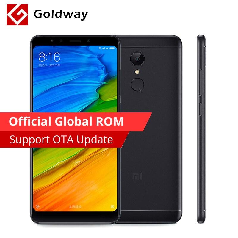 """Оригинальный Xiaomi Redmi 5 redmi5 3 ГБ Оперативная память 32 ГБ Встроенная память мобильного телефона Snapdragon 450 Octa Core 5.7 """"Full 18:9 Экран 12MP 3300 мАч MIUI 9"""