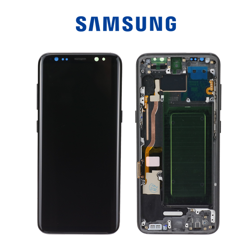 Original LCD For Samsung Galaxy S8  G950 G950F  Burn-in Shadow Lcd Display With Touch Screen Digitize