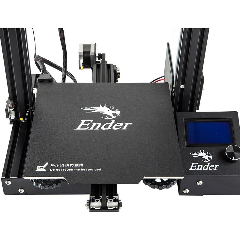 Creality 3D Ender 3 PRO 3D impresora mejorada Cmagnet Build Plate CV Impresión de fallo de energía KIT de bricolaje MeanWell fuente de alimentación - 4