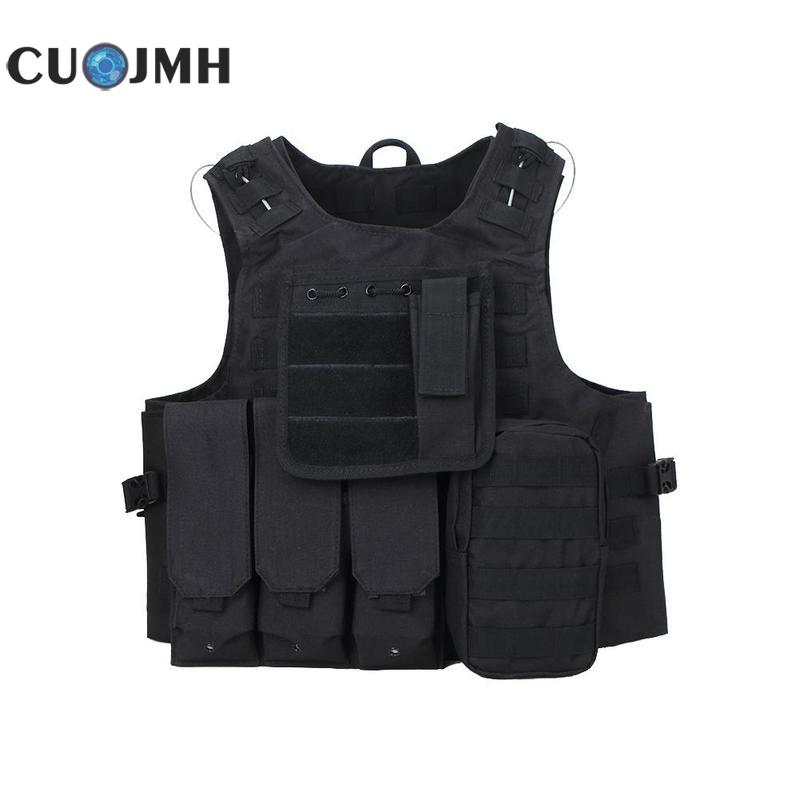1 Pcs Outdoor Tactical Vest Tan Color Safety Vest Carrier Molle Oxford Durable Self Defense Vest 4 Colors Tactical Vest клавиатура sven standard 301 usb белая 104 клавиши влагоустойчивая конструкция красная кириллица классич раскладка цветная коробка
