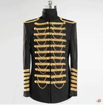 Singer slim blazer men formal dress latest coat pant designs suit men costume homme stage performance suits for men's royal