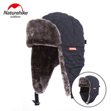 Naturehike Outdoor Windproof Winter Thermal Skiing Hats Lei Feng Hiking Russian Caps With Masks Bomber For Women Men