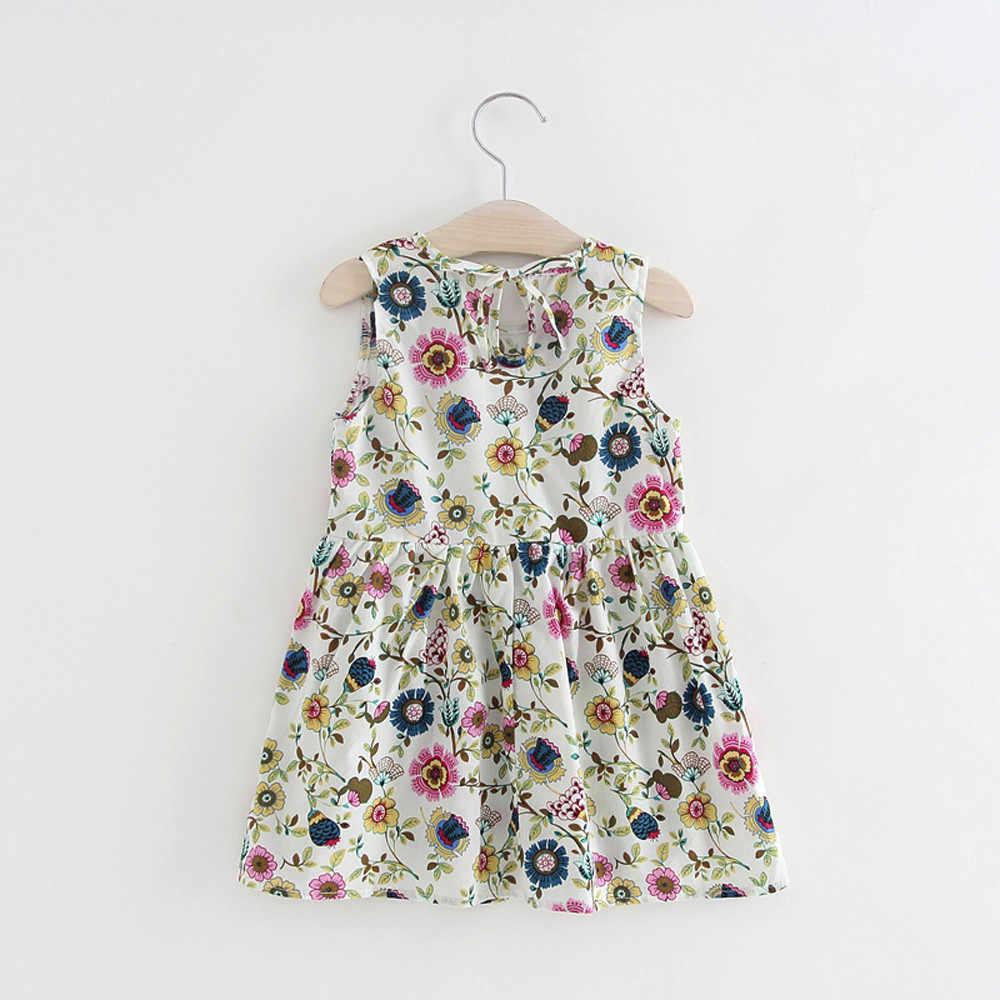 Летние 2019 для младенцев, платье принцессы для девочек одежда для малышей платья для девочек вечерние свадебные одежда с цветочным принтом, комплекты SZYADEOU vestidos bebes кукла трансфер до L5