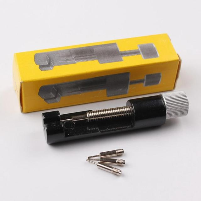 2019 Professional Watch Bracelet Repair Tools Spare Needles Adjustable Metal Rem