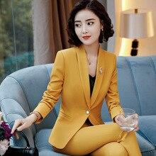 9d7729be88 2019 Blazer Vestido Formal Elegante das Mulheres Das Senhoras Blazers  Trabalho Desgaste Blazer Paletó Casacos manga comprida Bra.