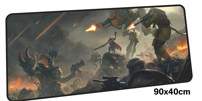 warhammer mousepad gamer 900x400X3MM gaming mouse pad large High quality notebook pc accessories laptop padmouse ergonomic mat