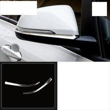 купить lsrtw2017 stainless steel car rearview trims for bmw 2 series Active Tourer F45 2015 2016 2017 2018 2019 218i онлайн