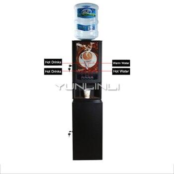 Máquina comercial de café, máquina de bebidas, cafetera instantánea, máquina de beber té de la leche