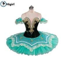 green pancake tutu adult nutcracker ballet cosutmes women professional kids stage costumes child BT9090