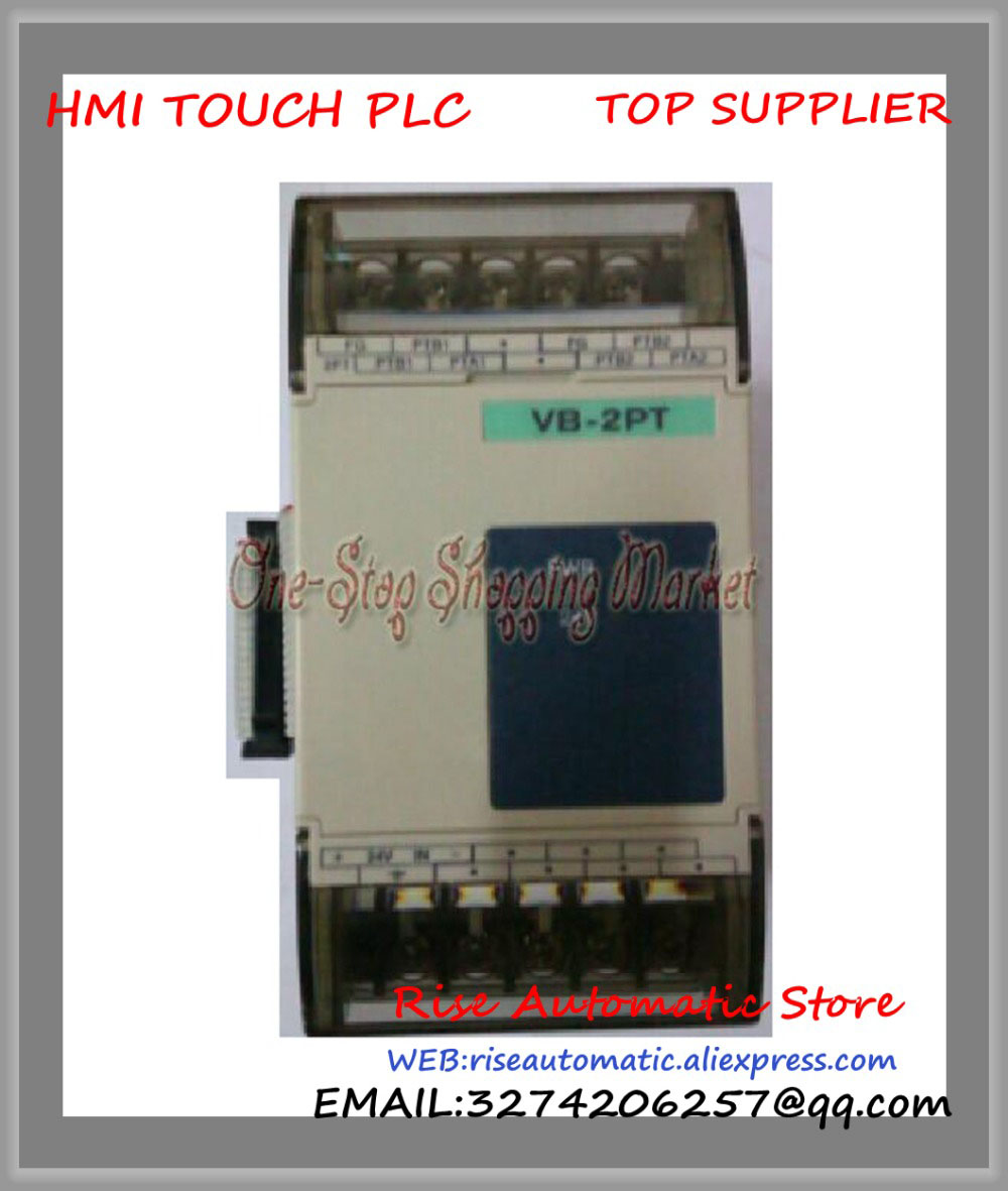 New Original Programmable Logic Controller VB-2PT 2 channel VB-4PT PLC 4 channel PT-100 Temperature Input Module special Module new original programmable logic controller vb 8yr c plc 24vdc 8 point input expansion module