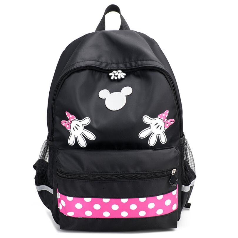 New School Bags Mochila Infantil Fashion Kids Bags Nylon Children Backpacks For Kindergarten School Backpacks Mickey School Bags