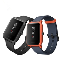 Dropshipping For Xiaomi AMAZFIT Bluetooth Calling Bip Pace Youth GPS Bluetooth 4 0 IP68 Waterproof Smart