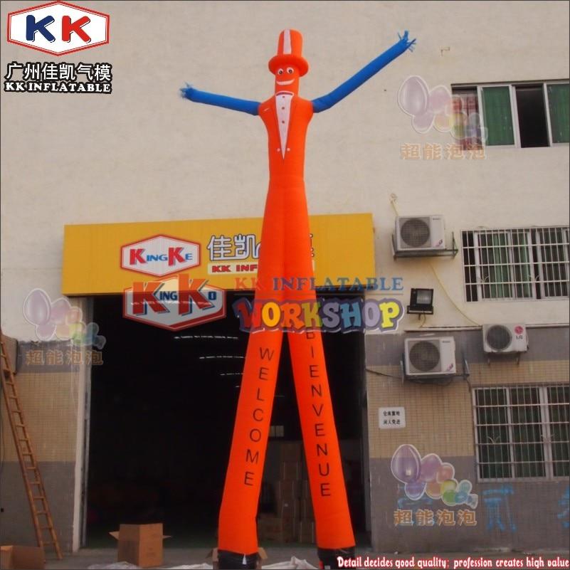 KK Fabricant danse gonflable gentleman ciel danseur volant gonflable tubes en agitant homme pour vente