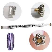 Strong Magnetic Nail Stick 3D Cat Eye Effect Magnet for UV Painting Gel Nail Polish UV Lamp for Gel Varnish