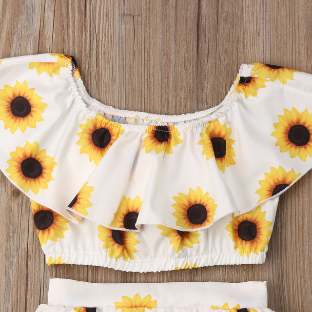 Sunflower Two Piece Set