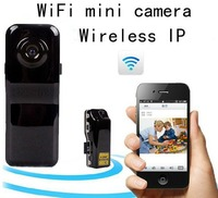Remote Wifi IP P2P Wireless Mini Camera Secret Record Android IOS Camcorder Video Espia Nanny Candid Cam Micro MD81S Pinhole
