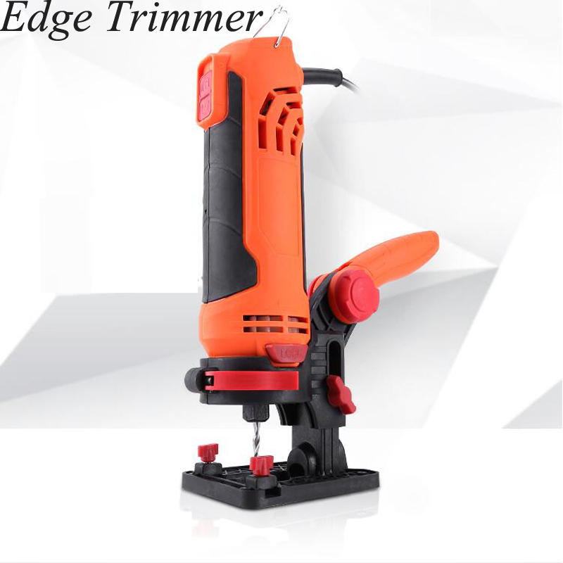 Handheld Woodworking Trimming Machine Eectric Power Wood Tool Renovator Edge Banding Slot Forming Carving Trimmer Wood Routers     -