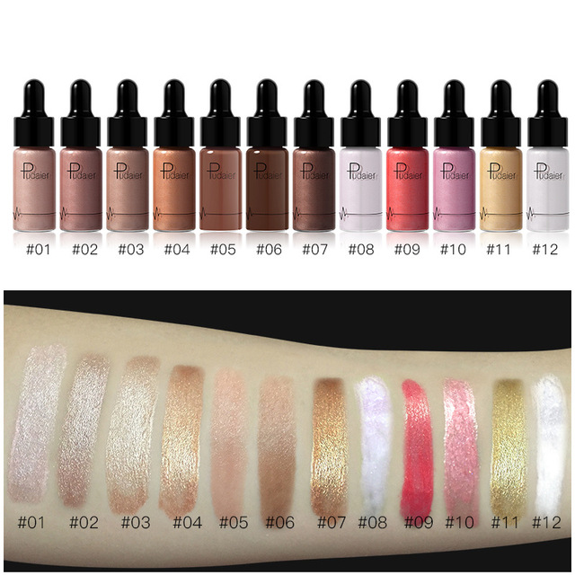 PUDAIER Professionnel Visage Base de Maquillage Longue Durée Éclairent Mat Minérale Blanchiment De Base Liquide Fondation Maquillage 2