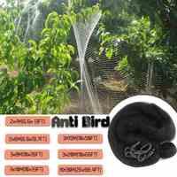 Durable 4/6/8/10/15/20/30cm Black Bird-Preventing Anti Bird Netting Net Mesh For Garden Fruit Crop Plant Tree Vegetables Flower
