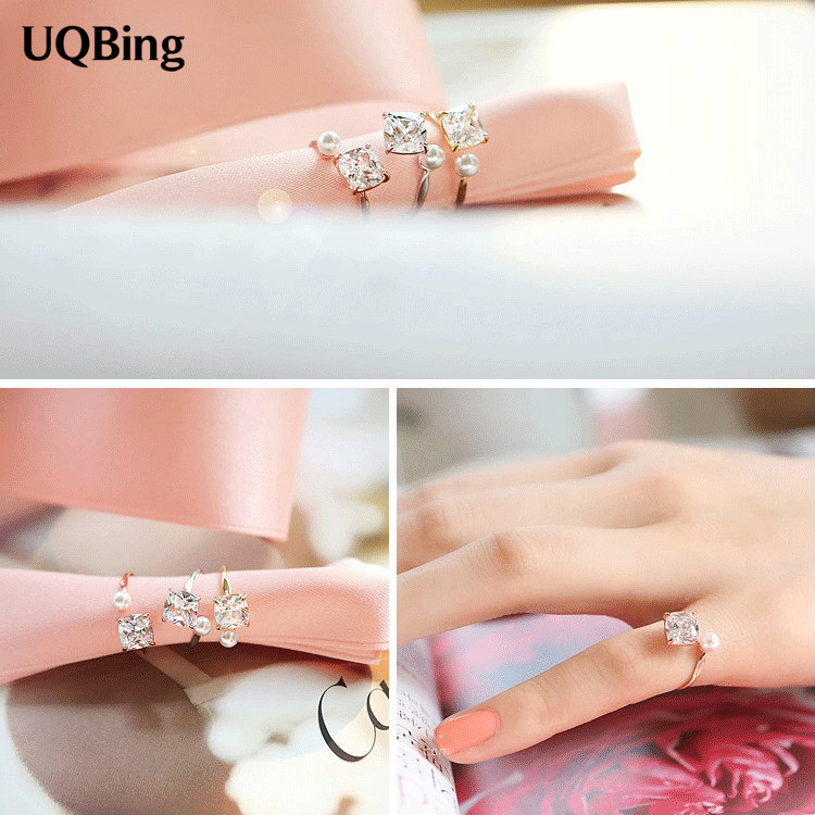 Vintage Antique Retro 925 Sterling Silver Crystal Rings For Women Jewelry Anel de Prata Bague en argent