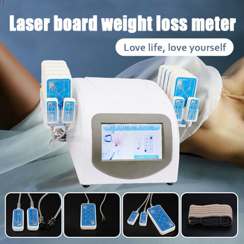 2019 Slimming Vacuum RF Cellulite Weight Loss Machine  Painless 8 Pads Diode Lipo Laser LLLT Ultrasonic 40K Cavitation