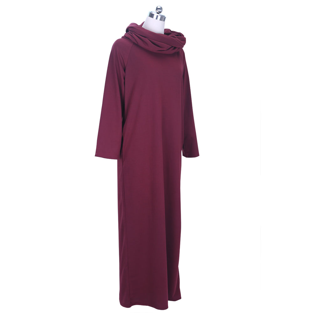 0ad2c2ba8497 Preself Loose Hooded Maxi Dresses Women's Knit Off Shoulder Wrap Dress  Casual long Sleeves Plus Size Party 2017 Autumn Winter-in Dresses from  Women's ...