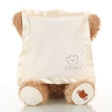 Юмор TED Peek A Boo Bear, игрушки и подарки для детей, электронные, музыкальные, движущийся рот, разговор и пение