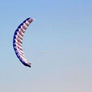 Новый парафиновый нейлоновый спортивный кайт для путешествий, парапланеризм, Спортивная игрушка для взрослых, парашют, двойная линия, каск...