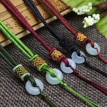 Correa colgante para collar, accesorios de joyería de moda, cordón con cuentas, accesorios de bricolaje, 20 Uds., envío gratis