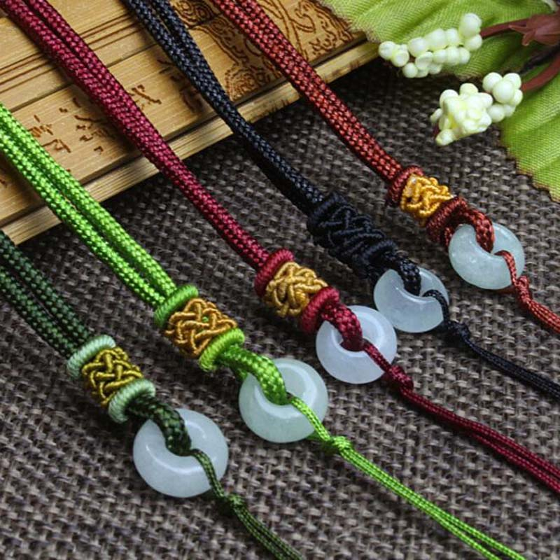 20 Pcs Necklace Strap Pendant Fashion Jewelry Accessories Lanyard With Beads DIY Accessories Pendant Cords Free Shipping