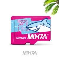 Mixzaマイクロsdサメ限定販売128ギガバイト64ギガバイト32ギガバイト16ギガバイト8ギガバイトマイクロsdカード64ギガバイトクラスフラッシュカードメモリカード用の電話/タブレッ