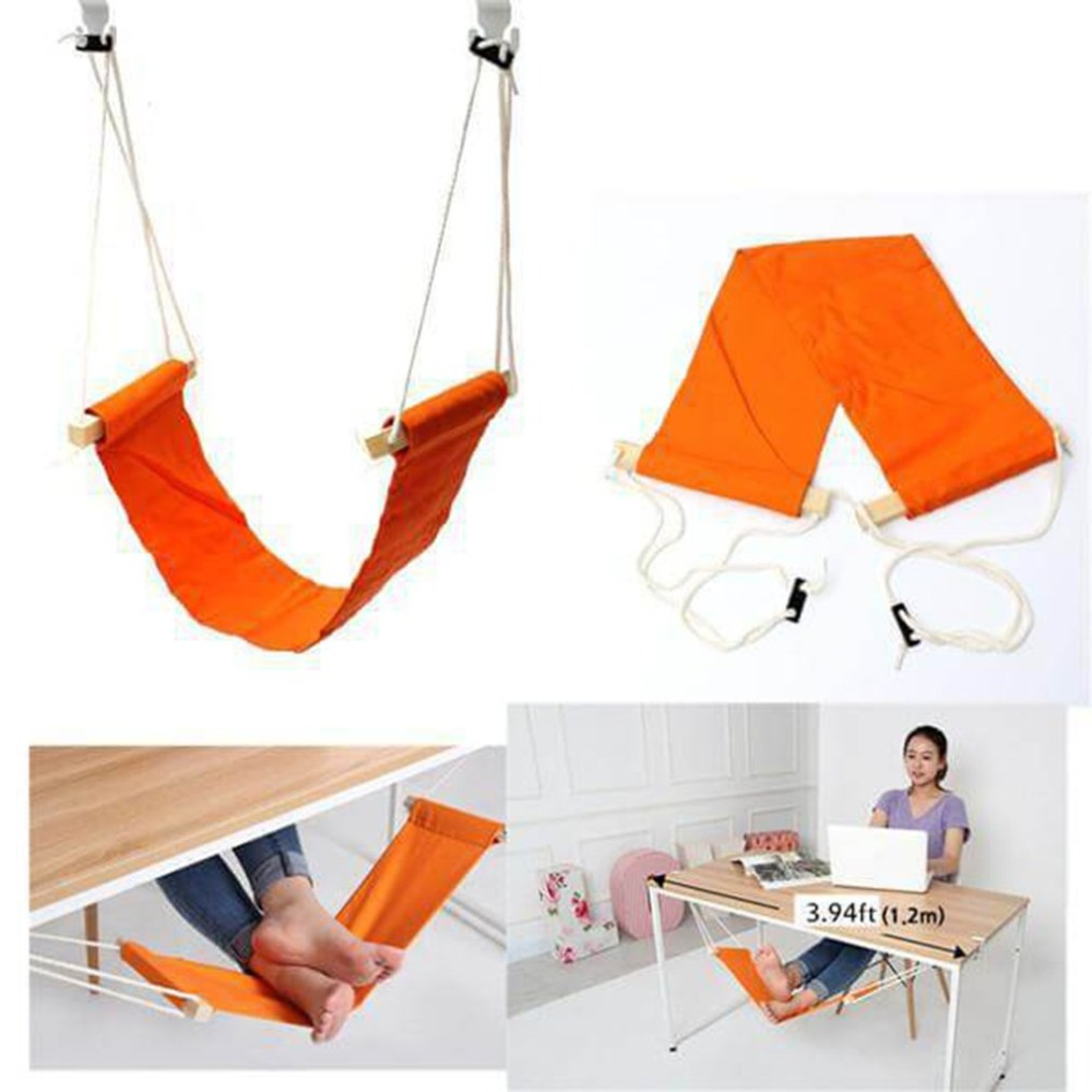 Office Leisure Home Office Foot Rest Desk Feet Hammock Surfing The Internet Hobbies Outdoor Rest Dropshipping