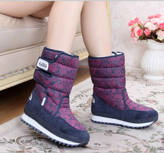EUR SIZE 34-42 new 2016 fashion Women's snow boots winter Non-slip weatherproof Leisure FREE SHIPPING wisted x boots cowboy boots only size 11 left eur size 42 knight boots tassel short boots