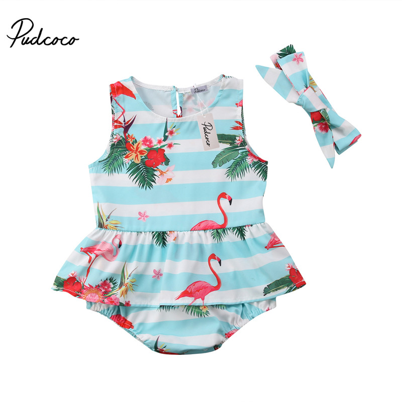 Fartido Romper Baby Girl Boy Sleeveless Shoulder Rose Embroidered Top Bow Skirt Two-Piece Set