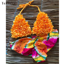 2019 New Sexy Bikini Swimwear Women Swimsuit Push Up Bikinis Women Bathing Suit Biquini Floral Brazilian Bikini Beach Wear Swim